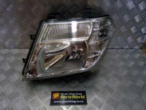 Nissan Navara D40 VSK 4WD 05/2010-2015 L Headlight