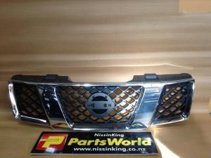 Nissan Navara D40 MNT 4WD 2010-2015 Grille