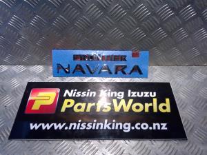 Nissan Navara D40 MNT 4WD 2010-2015 Decal Stickers