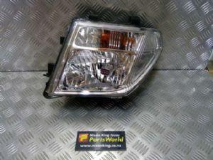 Nissan Navara D40 VSK 4WD 2006-04/2010 L Headlight
